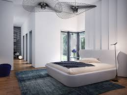 delightful bedroom decoration with two modern ceiling fan also white bed design idea bedroom decor ceiling fan