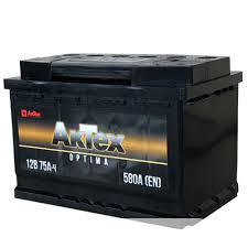 <b>AKTEX</b> Аккумулятор <b>АКТЕХ</b> OPTIMA 75 А/ч EN 580 А ПП(размер ...