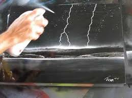 spray paint art spacepainting awesome lightning youtube awesome black white