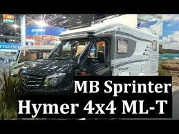 Дом на колесах 4x4 Hymer MLT на Mercedes-Benz Sprinter, обзор ...