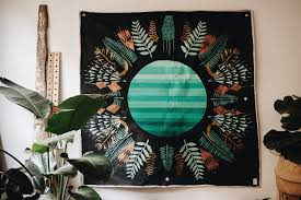 Spectrüüüm'd (Growth Rings in the <b>Afternoon</b>) ::: <b>Canvas</b> Banner ...