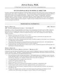 medical director resumefree resume templates