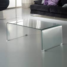Schuller Glass <b>coffee table 110x40x60</b> Transparent 552307 ...