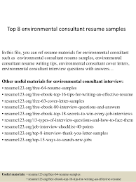 top  environmental consultant resume samplestop  environmental consultant resume samples in this file  you can ref resume materials for
