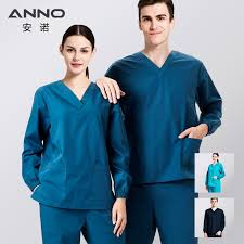 <b>ANNO</b> Long Sleeves Nurse <b>Uniform</b> Winter <b>Medical clothing</b> Winter ...