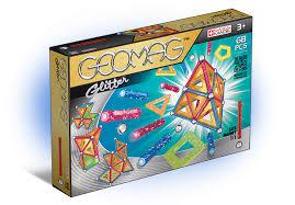 Магнитный <b>конструктор GEOMAG Glitter</b> 533-<b>68</b> деталей - купить ...