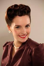 hair women wore their hair fairly short and above shoulder length the fashion of the decade was to set the hair with pin curls