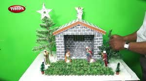 How to Make Easy Christmas Crib Nativity Scene | CHRISTMAS ...