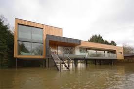 Modern Lake House Plans   Smalltowndjs com    Exceptional Modern Lake House Plans   Modern Elevated House  middot  Â