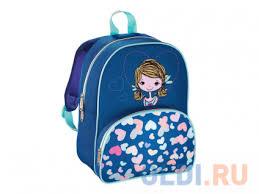 Рюкзак детский <b>Hama Lovely Girl синий</b>/голубой 00139103 ...
