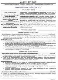 change management specialist resume examplechange management resume