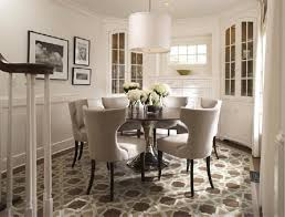 Formal Dining Room Designs Formal Dining Room Ideas With Nice Modern Chairs And Round Table