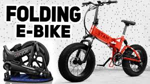 Top 5 <b>Folding Electric</b> Bikes 2019 - YouTube