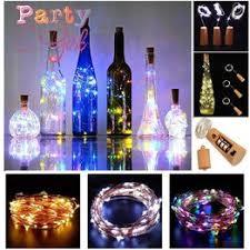 3M/2M/1M 10 LED Lights Cork Shape For Wine Bottle String ... - Vova