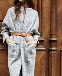 Le manteau ceinturé | пальто | Tendências da moda verão, Estilo de ...