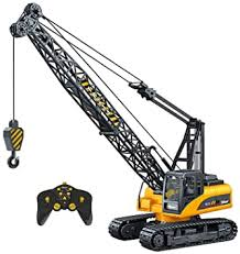 Buy Top Race <b>15 Channel Remote Control</b> Construction Toy Crane ...