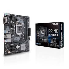 PRIME H310M-K CPU Support | Motherboards | ASUS <b>USA</b>