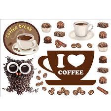 """<b>Набор наклеек</b> """"Кофе"""" в интернет-магазине <b>Decoretto</b> с ..."""