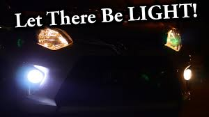 LED Fog Lights VS <b>Halogen Fog Lights</b> - YouTube