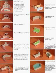 paper crafts made with paper mini quarter scale furniture apartment scale furniture