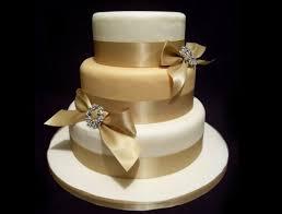 Image result for gold wedding cake