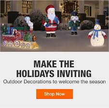 Outdoor <b>Christmas Decorations</b> - The Home Depot