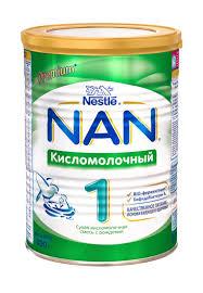 """<b>Сухая кисломолочная смесь</b> """"<b>NAN</b> кисломолочный 1""""с ..."""