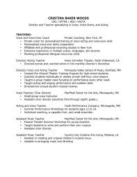 Example Of A Teacher Resume Reading Teacher Resume Fexlo Don    T Objective For Computer Teacher     happytom co