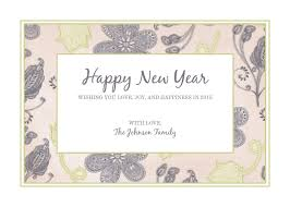 holiday templates examples lucidpress photo happy new year card 5x7