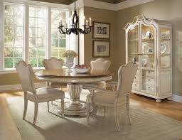 White Dining Room Chairs Elegant White Dining Room Ideas Classic Themed Round Table Seat