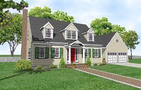 Cape Cod House Plans for Sale   Original Home PlansCape Cod House Plan   Barnstable