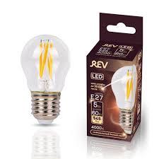 Светодиодная <b>лампа REV</b> E27 5 Вт филаментная 545 лм 4000 К ...
