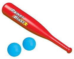 <b>Игровой набор Dolu</b> бейсбольная бита с двумя мячиками ...