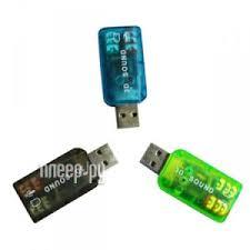 <b>Звуковая карта ATcom USB-sound</b> Card 5.1 3D Sound AT7807