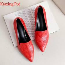sophitina fashion patchwork womens flats high quality genuine leather comfortable shoes slip on pointed toe shallow mo160