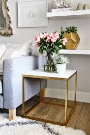 home accents interior decorating: ikea side table hack interiordesign casegoodsideas moder home decor interior design ideas