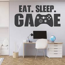 <b>Eat</b>. <b>Sleep</b>. <b>Game Wall</b> Quote – LabelDaddy