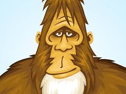 Image result for caricature of bigfoot