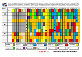 exam pal your personal examinations and revision guide weekly planner monthly planner click here to enlarge image