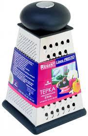 """<b>Терка Regent Inox</b> """"Presto"""" четырехгранная, цвет: стальной ..."""