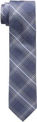 Dockers <b>Men's</b> Belden Place Plaid <b>100</b>% <b>Silk Tie</b>, Navy, One Size at ...