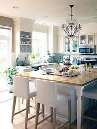 kitchen island small seating zone bar table