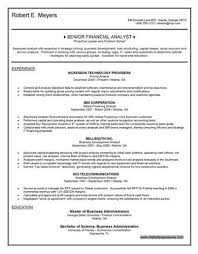financial analyst  lt a href  quot http   resume tcdhalls com resume html    financial analyst resume objective   free resume templates