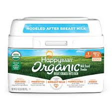 Happy <b>Baby</b> Organic Infant Formula Milk Based Powder with Iron ...