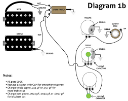 humbucker volume t one wiring diagram humbucker wiring diagram1b web humbucker volume t one wiring diagram