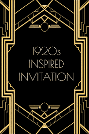 use this s inspired invitation template for a gatsby or use this 1920s inspired invitation template for a gatsby or flapper themed party to