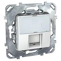 <b>Розетка</b> для интернета / телефона <b>Schneider Electric</b> UNICA ...