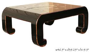 black piano painted lacquer fl coffee table modern tables black lacquer paint for furniture