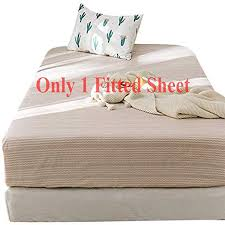 Fitted Sheets Home , Without <b>Pillowcovers</b> Twin Size Soft ...