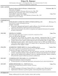 resume template job fast food restaurant manager objectives 79 exciting job resume template word
